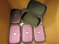 7 x GHD Carry Cases. Unused
