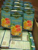 20 x 1L Sunpride tropical Drinks. BB Dec 2020