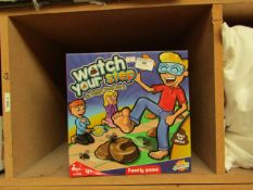Watch Your Step In Doggy Poo Park Family game. New & Boxed