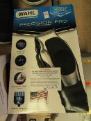Whal Precision Pro Hair Clippers. boxed &  tested Working (pre-used)