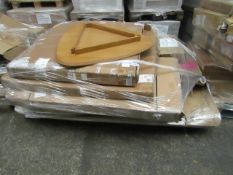 Pallet of Unmanifested Customer returns furniture from La Redoute, these items may range in
