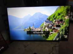 LG55UM7660 Smart 4K LED TV, tested working with Magic remote control, Missing stand and box, has a