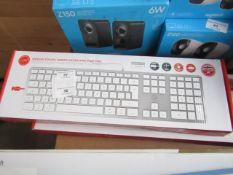 Design Touch Wired Keyboard for MAC, boxed and unchecked