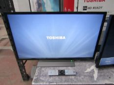 """Toshiba 32LL3A63DB 32"""" Full HD LED Smart TV with alexa built in, tested working with original box"""