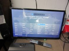 """Toshiba24WD3A63DB 24"""" Full HD LED Smart TV, tested working with original box and remote control,"""