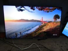 """TCL 55TCL715K 55"""" Smart 4K QLED TV tested and working with remote control, No stand or box."""