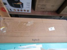 Logitech K120 keyboard, unchecked and boxed