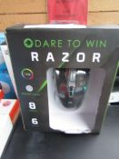 Gae Max Dare to win Razor gaming mouse, boxed and unchecked