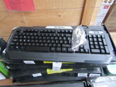 Spacekey Tech Bean USB gaming keyboard, unchecked and boxed