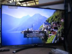 LG 49UM7400PLB smart 4K tv, tested working with remote control, stand nad original box, sticker on
