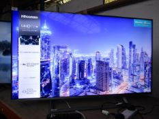 """Hisense H50B7500UK 50"""" smart 4K LED TV, tested working with original box, remtoe control and"""