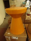 La Redoute Mustard Ceramic Side Table Has a slight mark on the top but nothing Major. Unused