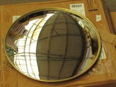 La Redoute Small Round Mirror. 41cm Diameter. Unused & Boxed