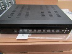 4/16 Channel DVR System - Untested & Boxed.