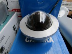 CCD - Vandalproof Dome Camera - Untested & Boxed.