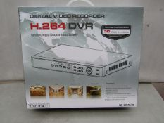 DVR - H.264 DVR - Untested & Boxed.