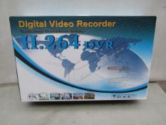 DVR - Digital Video Recorder (H.264 DVR) - Untested & Boxed.