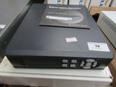 DVR - Digital Video Recorder 4 Channel MJPEG - Untested & Boxed.