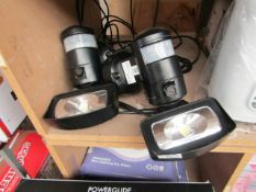 2x Outdoor Motion Detection Light - Both Untested.