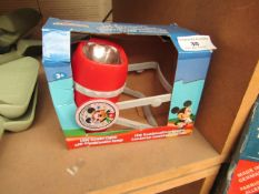 Mickey Mouse - LED Combi Light - Untested & Boxed.