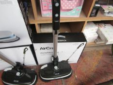 AirCraft - PowerGlide Coordless Hard Floor Cleaner - Item Powers On & Boxed. RRP CIRCA £199.99.