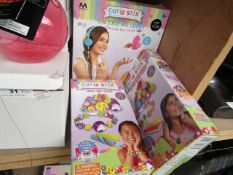 3x Various Items Being: 2x Cutie Stix - Childrens Jewery Maker Set - Boxed. 1x Cutie Stix - Decorate