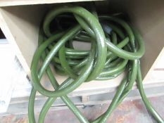 Commicial Green industrial Hose Pipe - Item Unchecked.