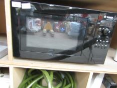 Bosch - 17L 800W Solo Microwave Black - Item Powers On However Door Needs attention.