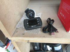 Cobra - Dash Camera - Includes Cable - Untested.