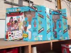4x Selfie Booth - Photo Fun (Includes 20 Accessories) - All Unchecked & Boxed.