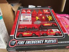 3x Children's Fire Emergency Playset - Look New & Packaged.