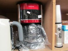 Morphy Richards - Evoke 162522 Filter Coffee Machine - Red - Item Untested. RRP CIRCA £50.00.