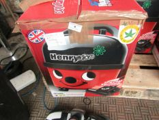 Numatic Henry Micro HVR200M- Vacuum Cleaner - Item Powers On But No Suction & Boxed.