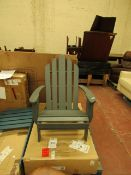 | 1X | LA REDOUTE ARONDECK STYLE GARDEN CHAIR, | LOOKS UNUSED AND COMES WITH BOXED BUT HAS A FEW