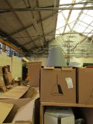 | 1X | SINKER SMALL DUSTY GREY CEILING LIGHT | LOOKS UNUSED AND BOXED BUT NO GUARANTEE | RRP £88 |