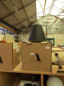 | 1X | SINKER SMALL BLACK CEILING LIGHT | LOOKS UNUSED AND BOXED BUT NO GUARANTEE | RRP £88 |
