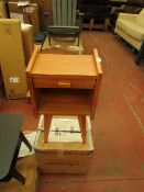 | 1X | LA REDOUTE QUILDA BEDSIDE TABLE | LOOKS UNUSED AND COMES WITH BOX | RRP £99 |