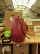 | 1X | NORTHEN LIGHTING BELL PENDANT LIGHT | UNTESTED AND UNCHECKED (NO GUARANTEE), BOXED | RRP £