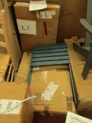 | 1X | LA REDOUTE ARONDECK STYLE GARDEN CHAIR, COMES FLAT PACKED MORE PIECE INSIDE THE BOX THAN IN