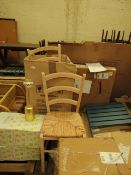 | 2X | LA REDOUTE DINING CHAIRS | LOOKS UNUSED AND COMES WITH BOXED | RRP CIRCA £110 |