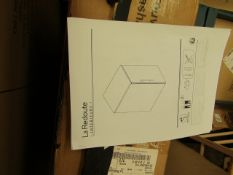 | 1X | LA REDOUTE BLACKA ND WOOD UNIT | COMPLETELY UNCHECKED FOR ALL PARTS AND COMES BOXED | RRP