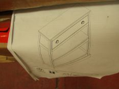 | 1X | LA REDOUTE CONSOLE UNIT | COMPLETELY UNCHECKED FOR ALL PARTS AND DAMAGE AS FLAT PACKED AND