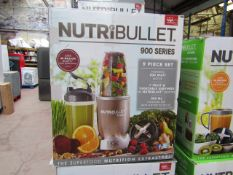| 7X | NUTRIBULLET 900 SERIES | UNCHECKED AND BOXED | NO ONLINE RE-SALE | SKU C5060191467353 |