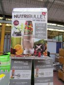| 3X | NUTRIBULLET 900 SERIES DELUXE | UNCHECKED AND BOXED | NO ONLINE RE-SALE | SKU
