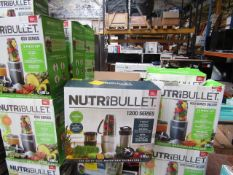 | 2X | NUTRI BULLET 1200 SERIES | UNTESTED AND BOXED | NO ONLINE RESALE | RRP £119.99 | TOTAL LOT