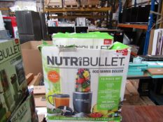 | 4X | NUTRI BULLET 600 SERIES DELUXE | UNTESTED AND BOXED | NO ONLINE RESALE | RRP £59.99 | TOTAL