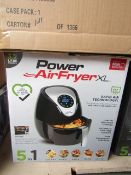 | 6X | POWER AIR FRYER XL 5 IN 1 3.2L | UNCHECKED AND BOXED | NO ONLINE RE-SALE | SKU - | RRP £69.99