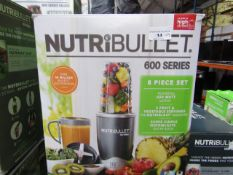 | 9X | NUTRI BULLET 600 SERIES | UNTESTED AND BOXED | NO ONLINE RESALE | RRP £59.99 | TOTAL LOT