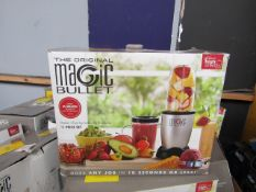 | 5X | MAGIC BULLET | UNTESTED AND BOXED | NO ONLINE RE-SALE | SKU C5060191467360 | RRP £39.99 |