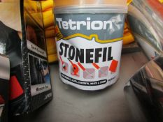 Tetrion - Professional Stone Filler (Pink) - Some Damaged to Tin.